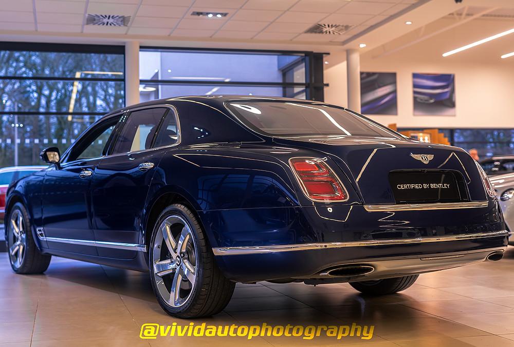 Bentley Mulsanne | rear three quarters | Bentley Manchester