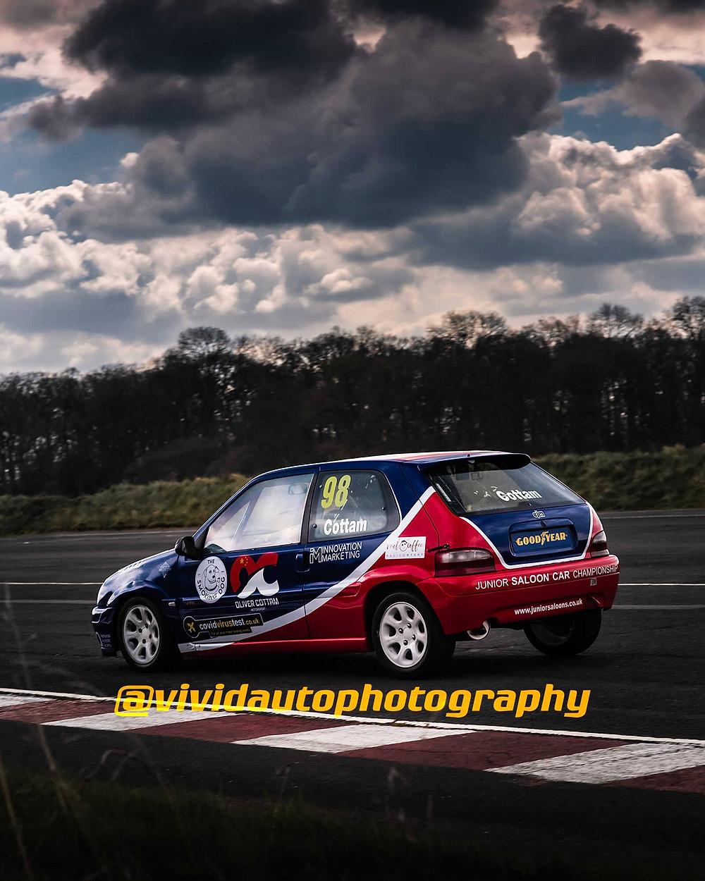 Citroen Saxo   Oliver Cottham   Stafford Driving Centre