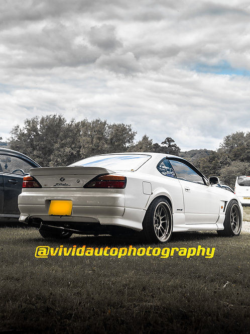 Nissan Silvia S15 Spec S | Oulton Park | Rear three quarter poster