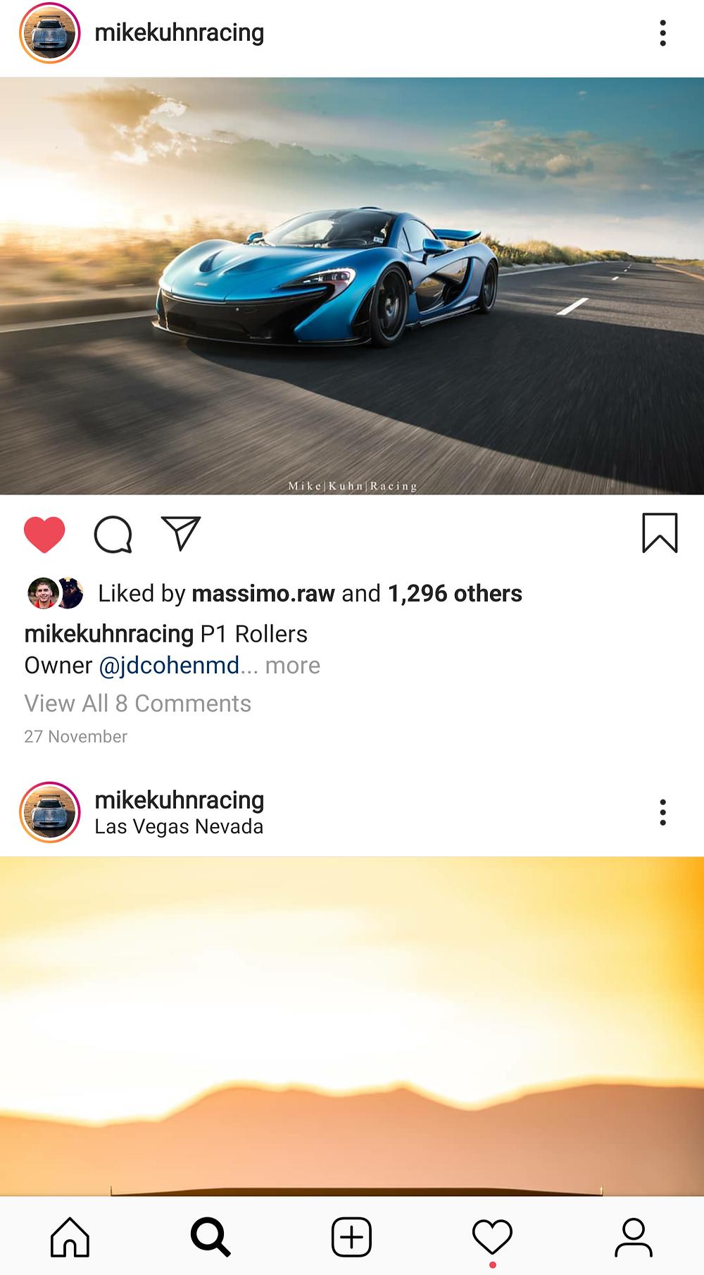 Mike Kuhn Racing Instagram Feed
