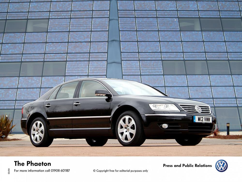 Volkswagen Phaeton   Photo Credit - @Volkswagen UK