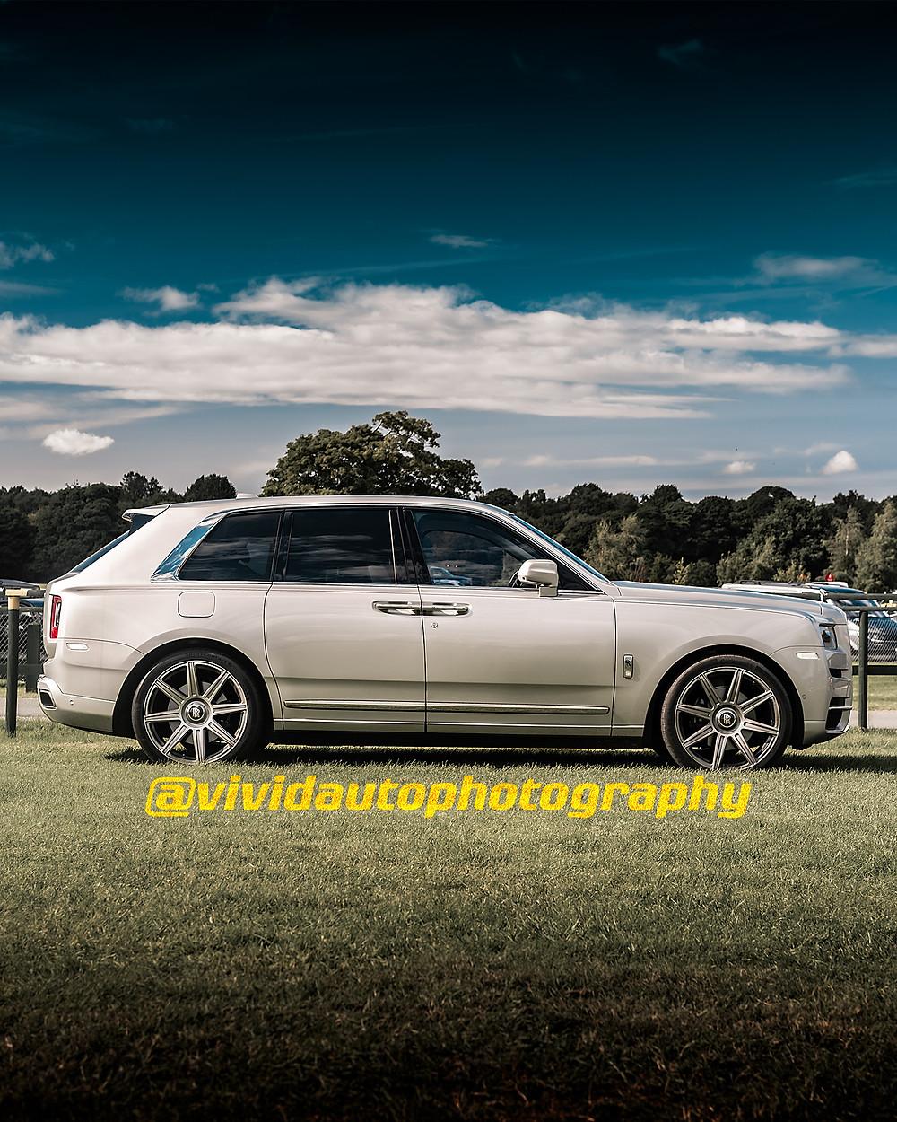 Rolls Royce Cullinan | Premiere Silver | Oulton Park
