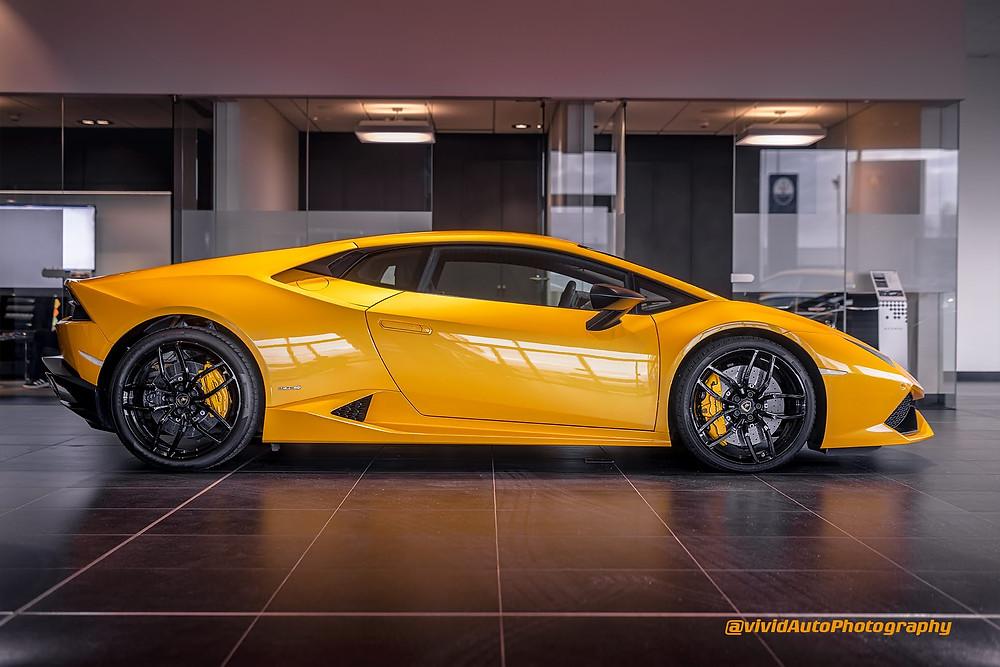 Lamborghini Huracan LP-610-4 | Lamborghini Manchester | Side profile