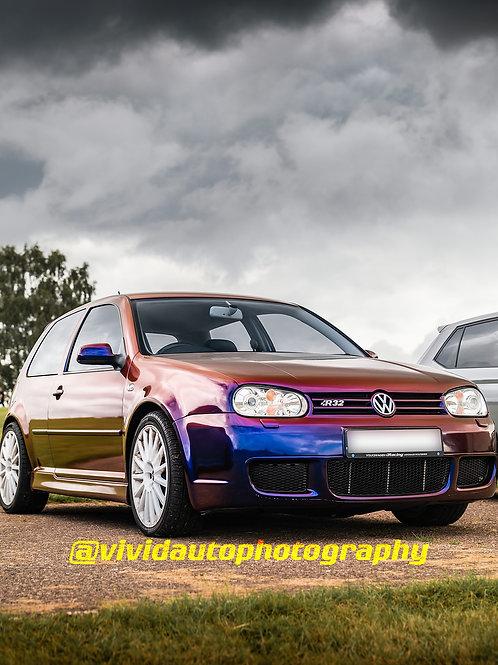 Volkswagen Golf R32 MK4 Reflex Spice | Oulton Park
