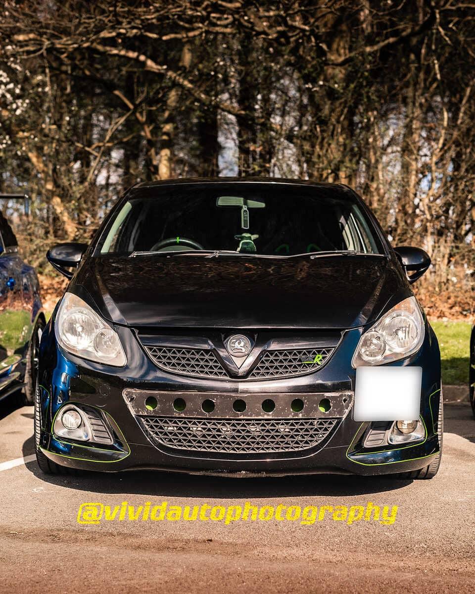Vauxhall Corsa VXR | Black Sapphire | Front poster