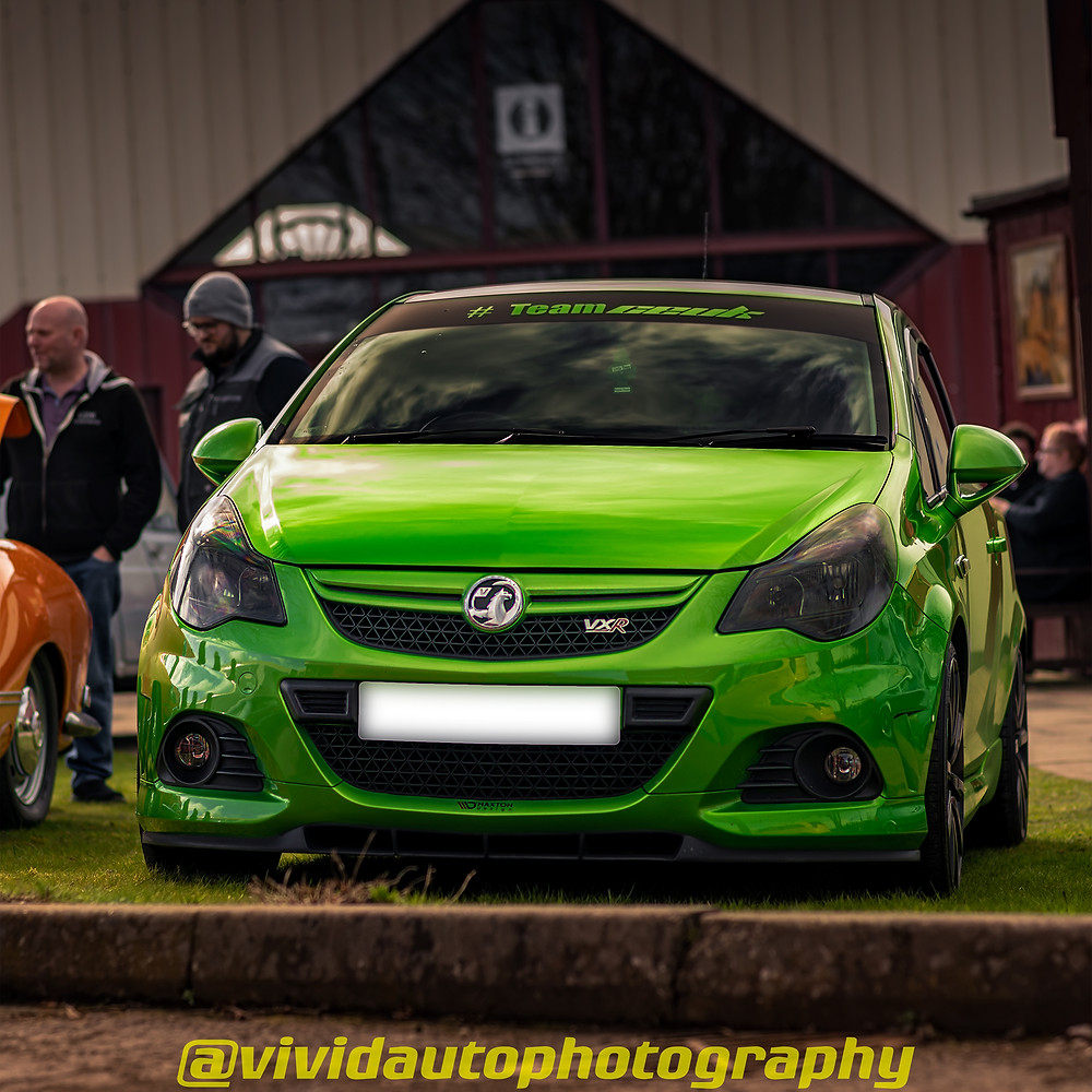 Vauxhall Corsa VXR Nurburgring Edition Crewe Heritage Centre