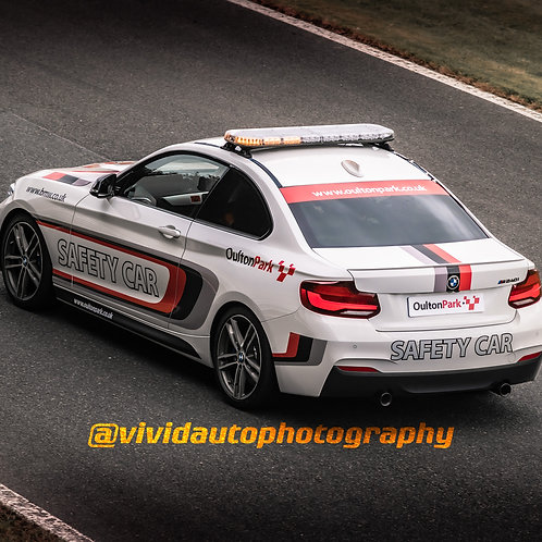 BMW M240i Safety Car | Oulton Park