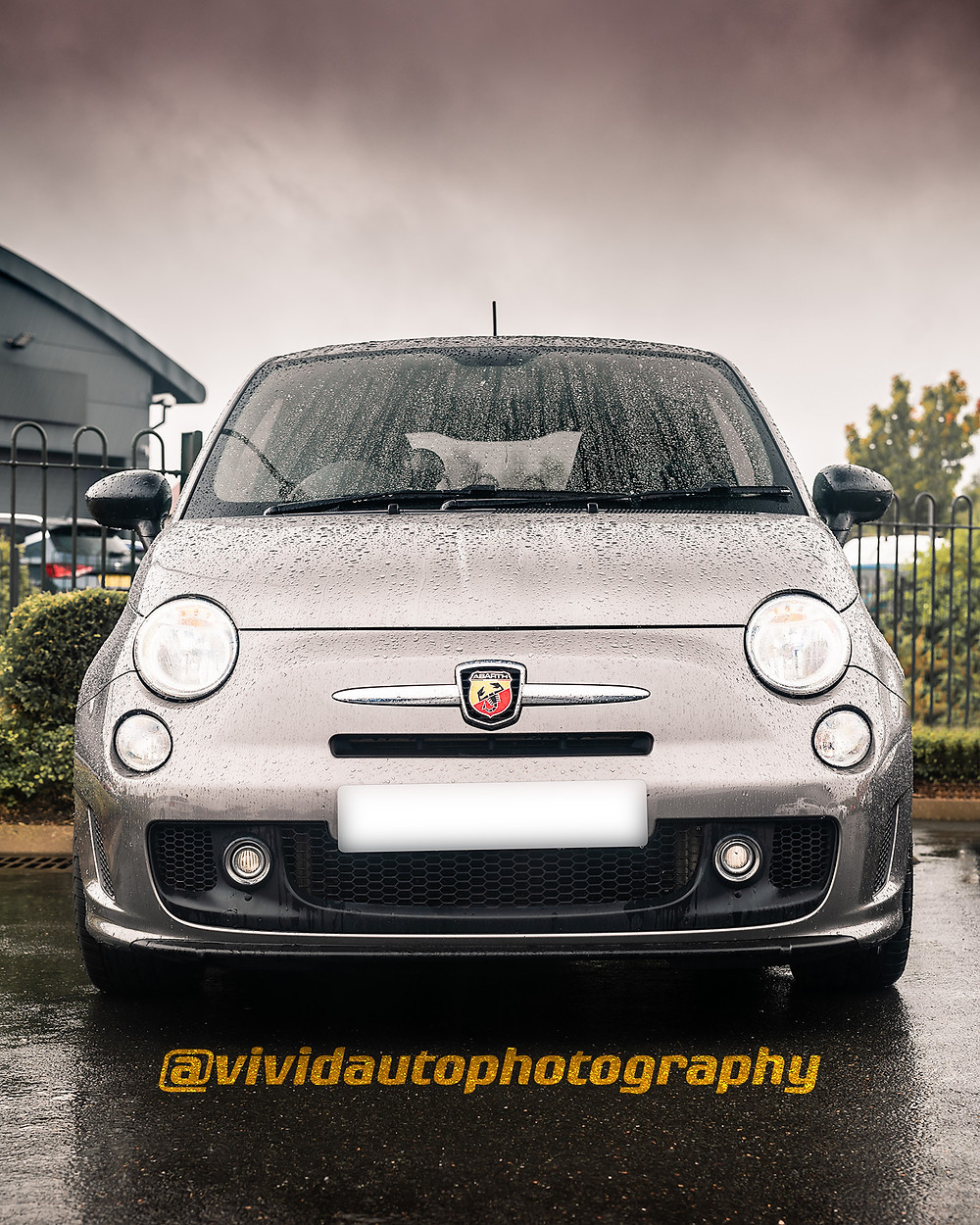 Abarth 500 | Circuit Grey