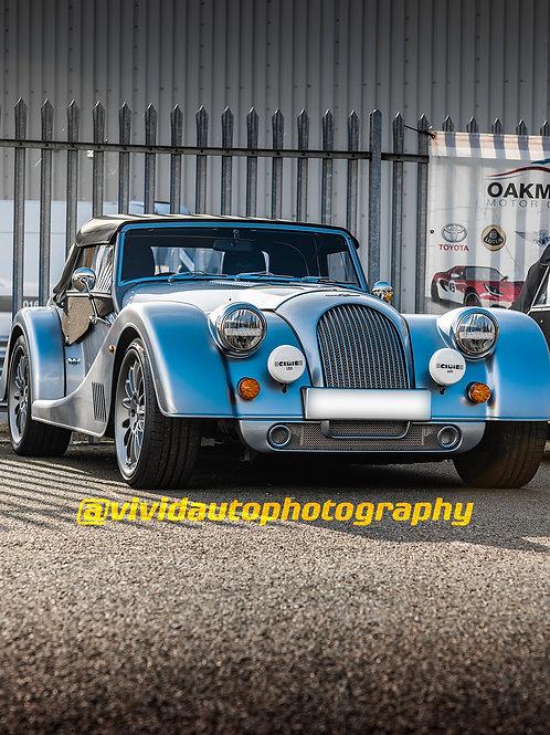 Morgan Plus Six   Ice Blue   Oakmere Motor Group