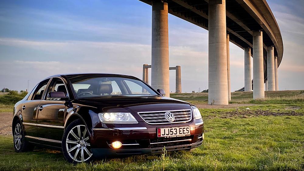 Volkswagen Phaeton   Photo Credit @Callum