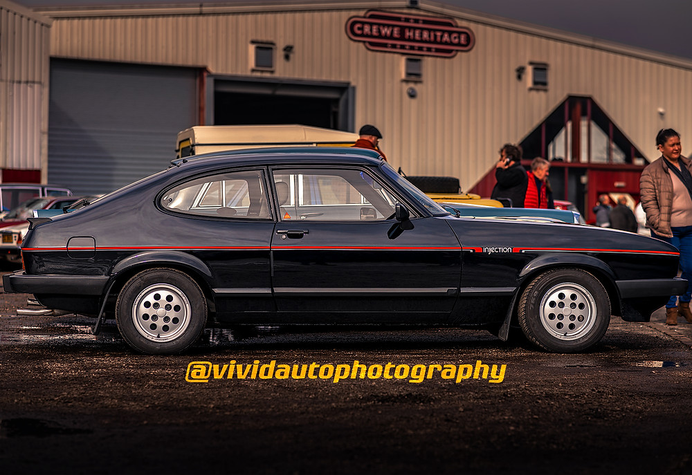 Ford Capri 2.8 Injection | Side Profile