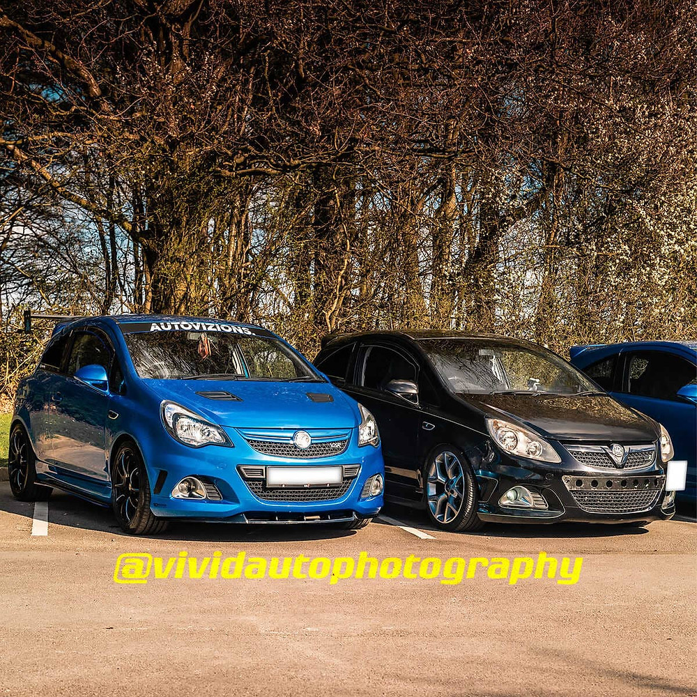 Vauxhall Corsa VXR *2 | Arden Blue and Black Sapphire | Front three quarter