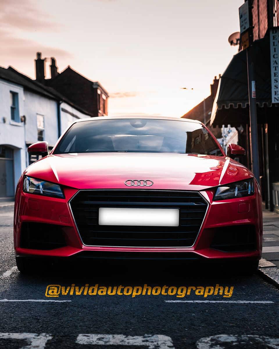 Audi TT MK3   Tango   Front poster