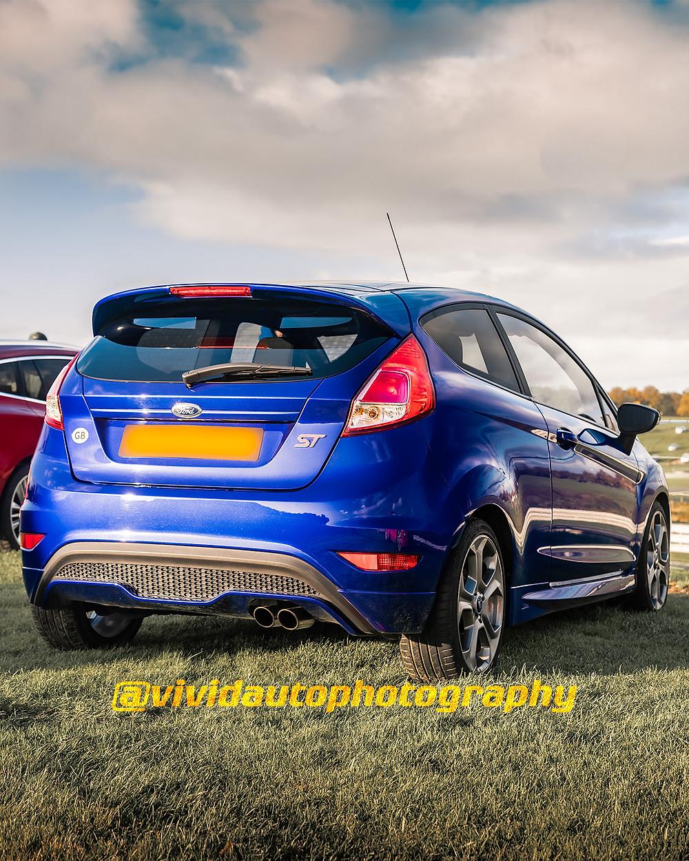 Ford Fiesta ST | Spirit Blue | Oulton park