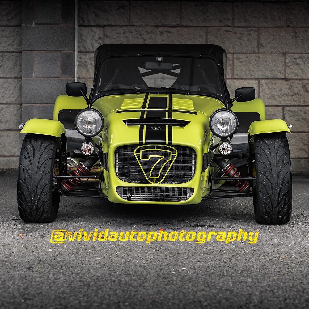 Caterham 7 620R | Fluorescent Yellow | Lotus Northwich