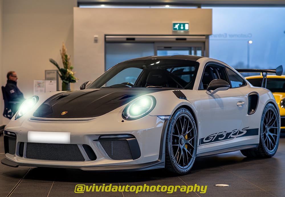 Porsche 911 GT3 RS Weissach Package front three quarters | Porsche Centre Chester