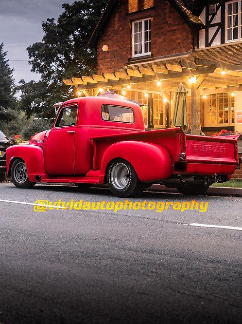 Chevrolet 3100   Rear Three quarter   UK Car Culture