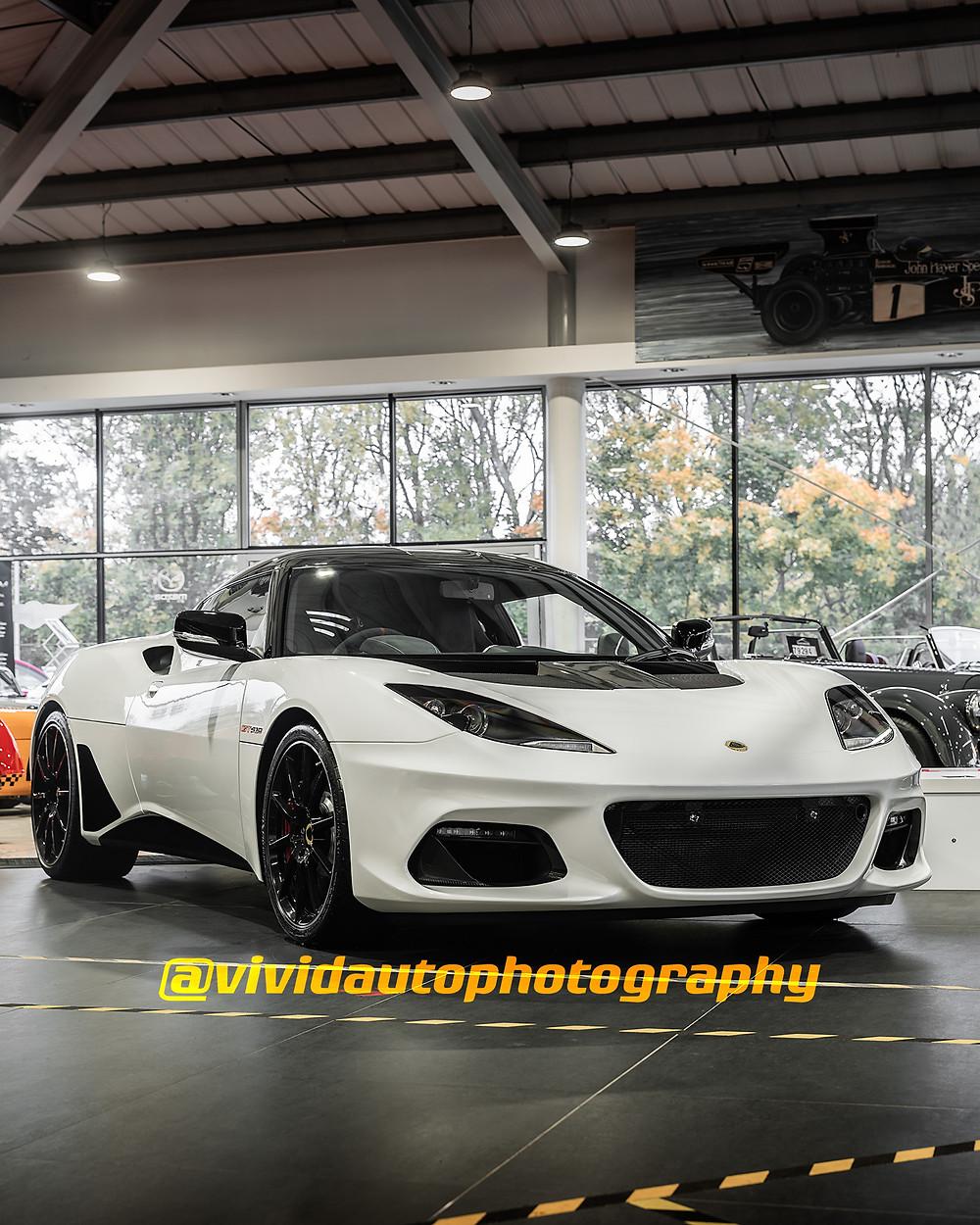 Lotus Evora GT410 Sport Aspen White | Lotus Northwich