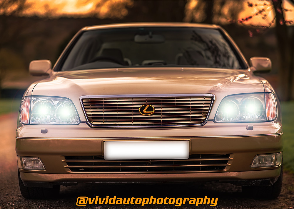 Lexus LS400 Spring front face