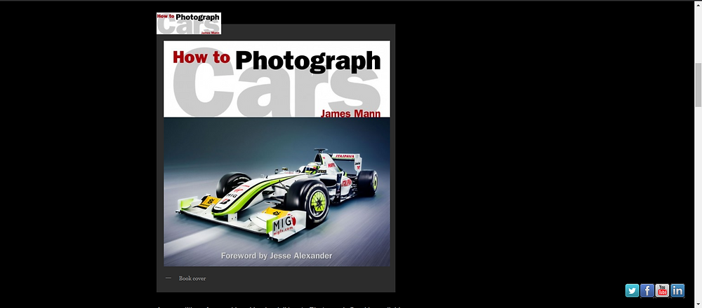 How to Photograph Cars by James Mann