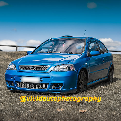 Vauxhall Astra Coupe | Arden Blue | Oulton Park