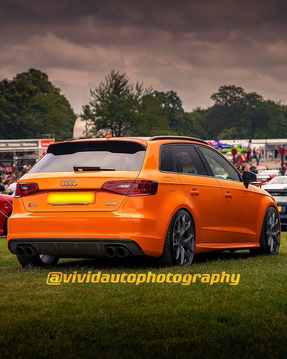 Audi RS3 Sportback | Rear three quarters | Oulton Park