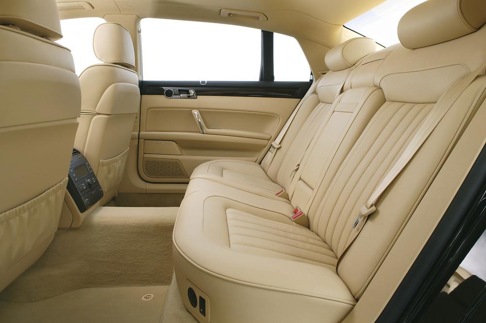 Volkswagen Phaeton Rear Interior   Photo Credit - @Volkswagen UK