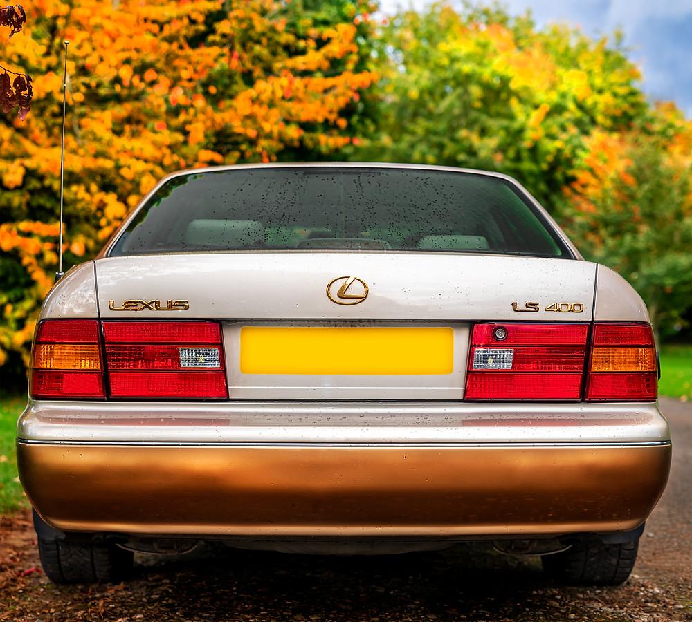 Lexus LS400 rear bumper