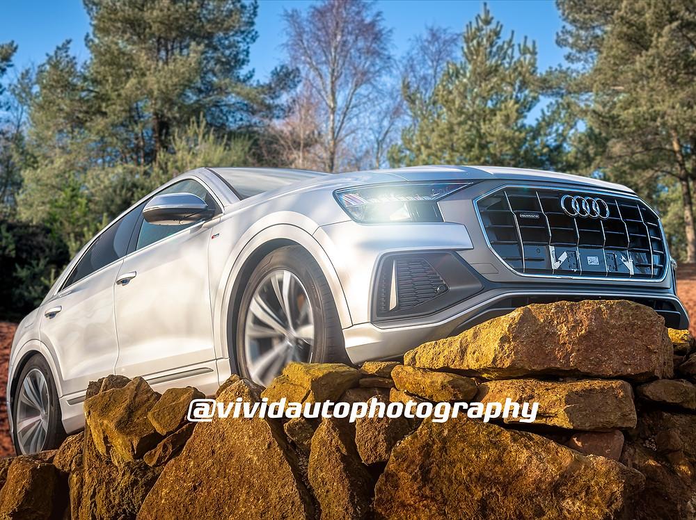 Audi Q8 front three quarters | Forest