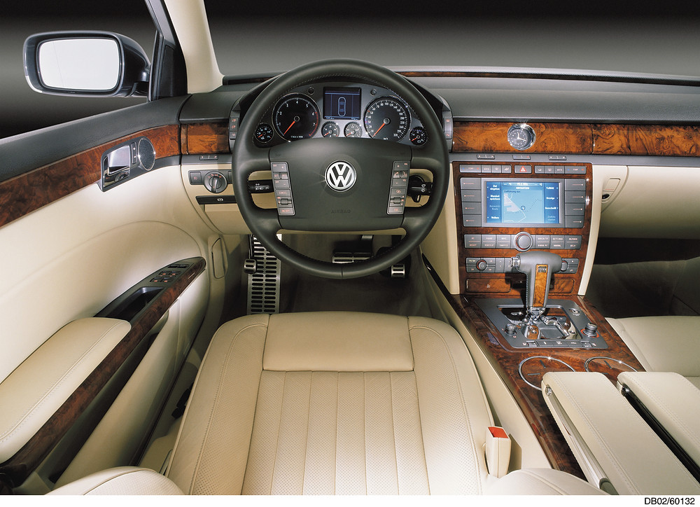 Volkswagen Phaeton Interior   Photo Credit - @Volkswagen UK