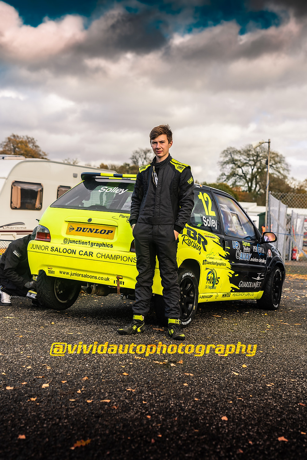 Alex Solley and Citroen Saxo | JSCC Oulton Park 2020