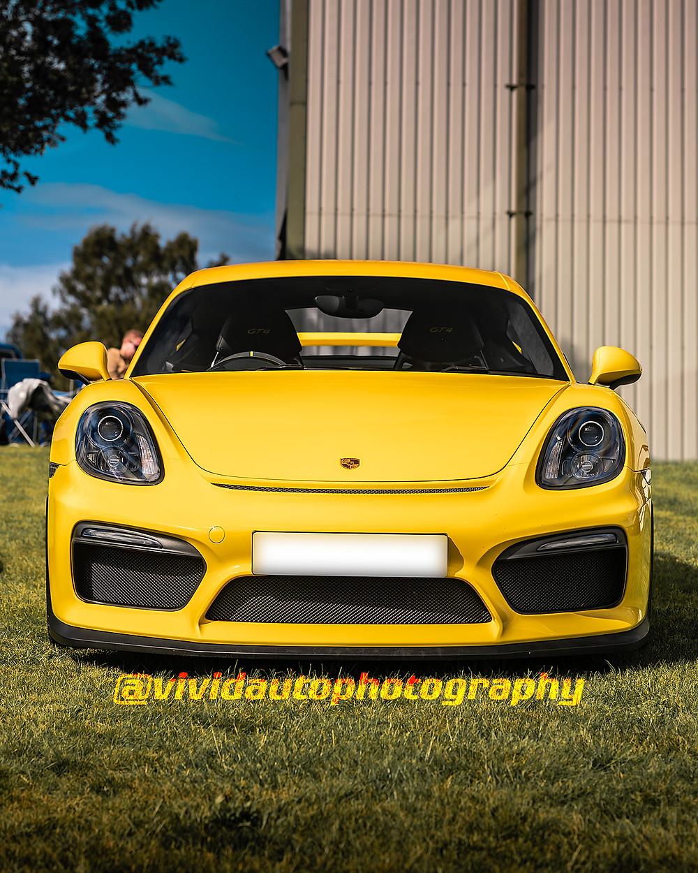 Porsche Cayman GT4 981 | Oulton Park | Racing Yellow