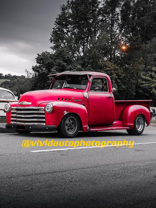 Chevrolet 3100 Pickup Truck Front three Quarters | Car Meet