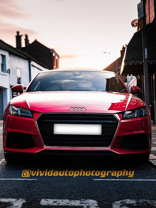 Audi TT MK3 | Tango Red | Local Town