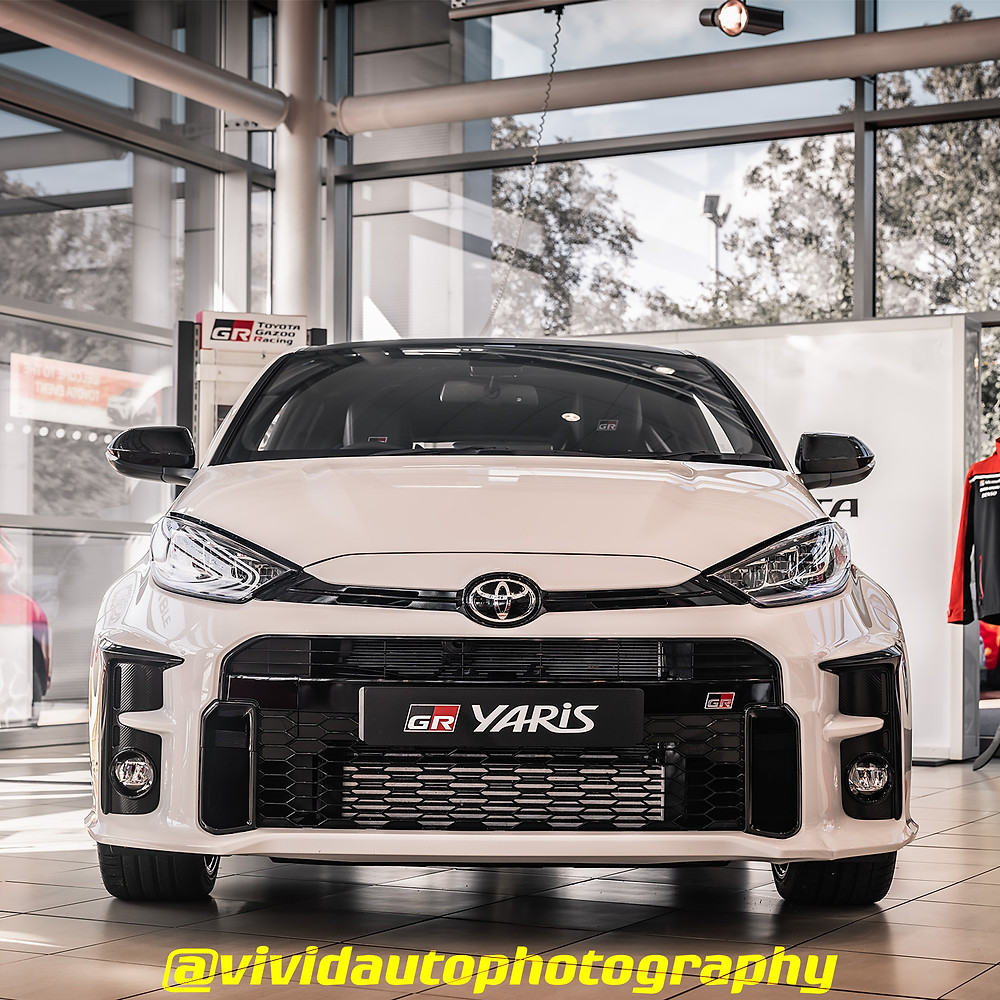 Toyota GR Yaris | Pure White | Front poster