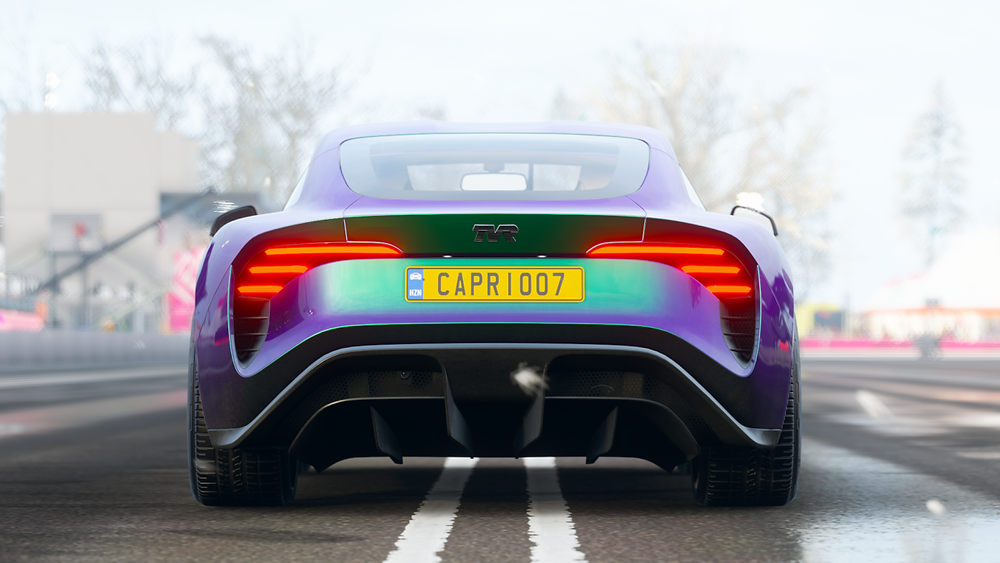 TVR Tuscan | Rear poster