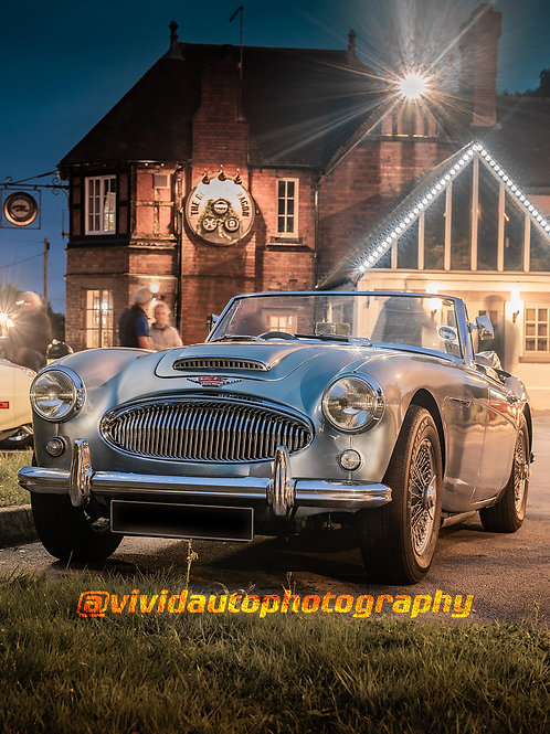 Austin Healey 3000 MK2 | Ice Blue | Car Meet
