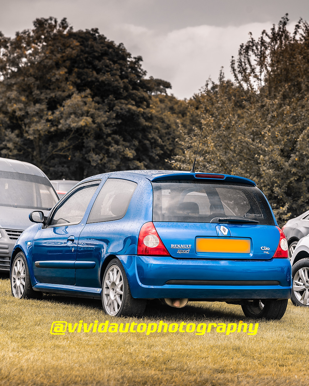 Renault Clio Sport Cup 182   Rear three quarters poster