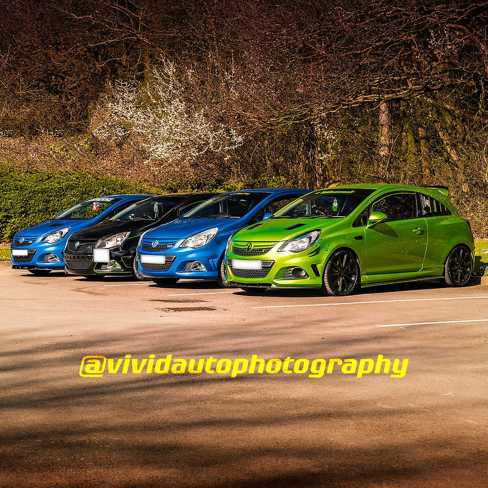 Vauxhall Corsa VXR and Corsa VXR Nurburgring Edition | Front three quarter poster
