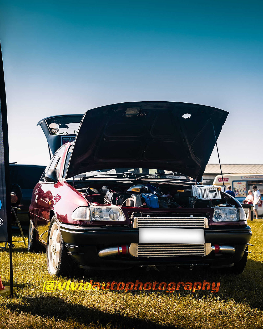 Vauxhall Astra GSi | Stance Auto | Front three quarter poster