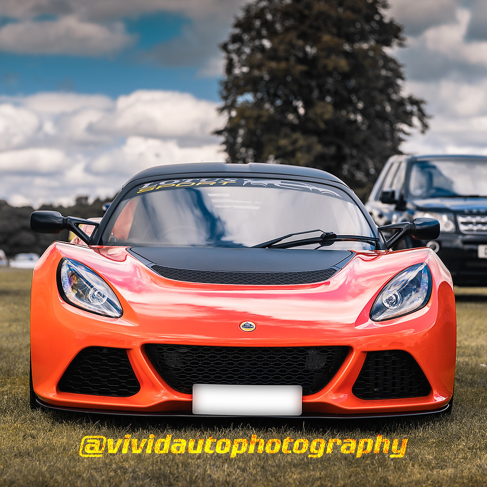 Lotus Exige Sport 350 | Signature Orange | Front poster