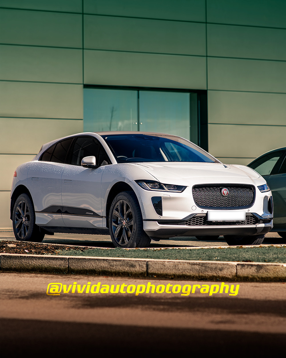 Jaguar I Pace front three quarters Poster