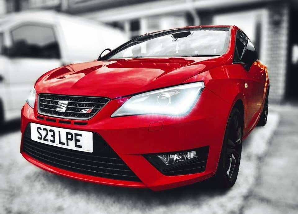 Seat Ibiza Cupra 6P | Front three quarter | Photo credit - Liam