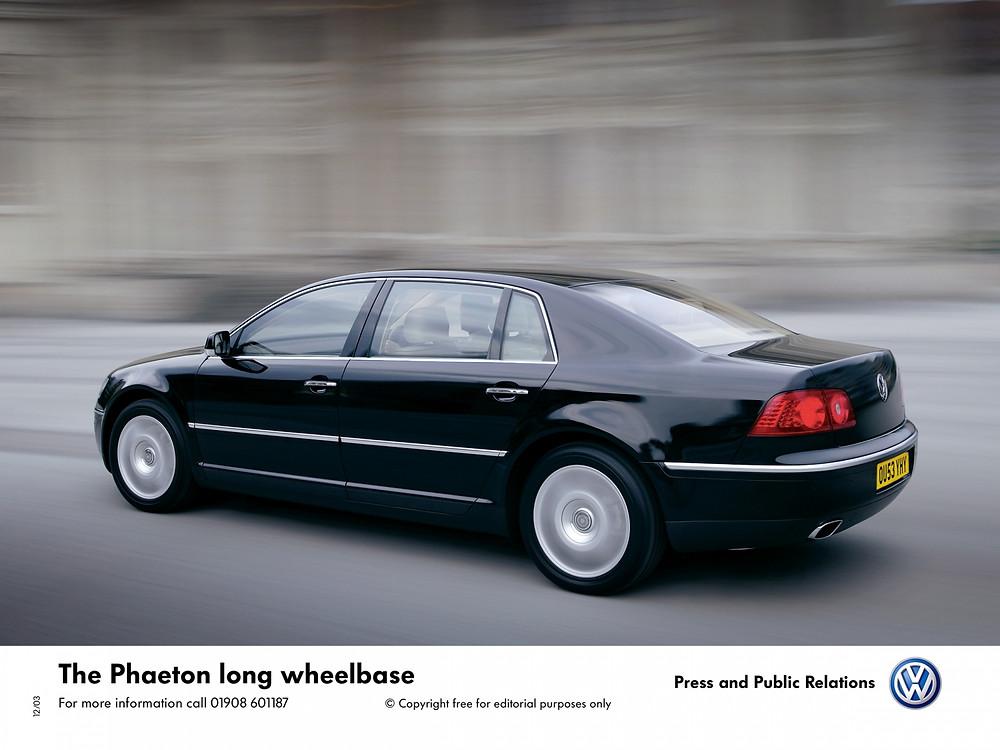 Volkswagen Phaeton LWB   Photo Credit - @Volkswagen UK
