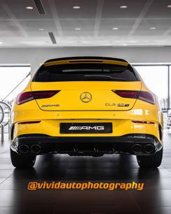Mercedes AMG CLA45S Shooting Brake sun y