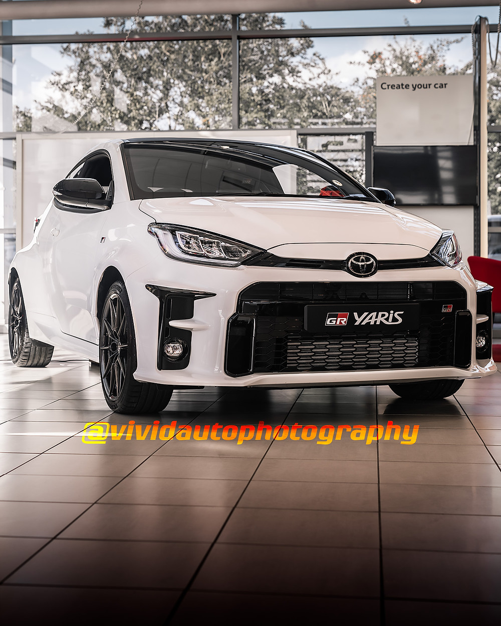 Toyota GR Yaris | Front three quarters poster | Toyota Stoke