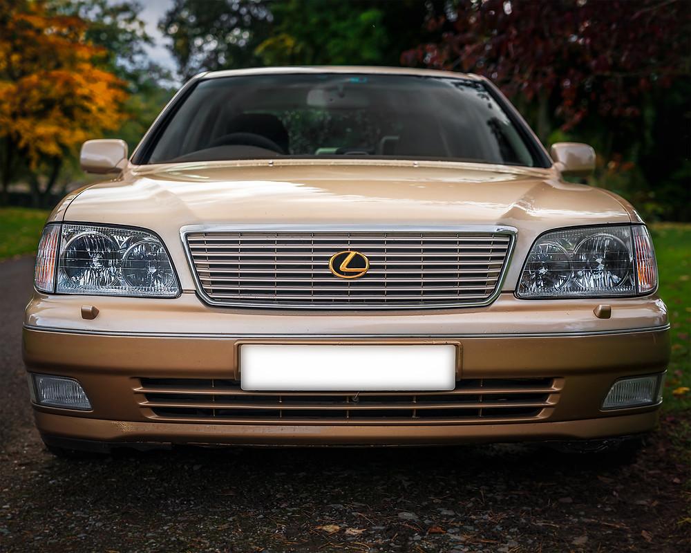 Lexus LS400 1998 front face