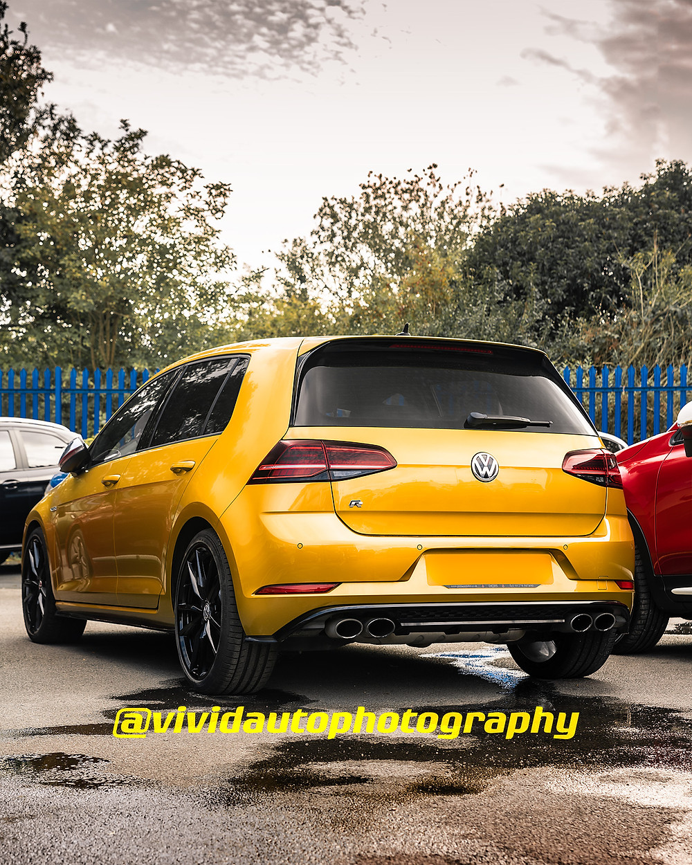 Volkswagen Golf R | Tumeric Yellow