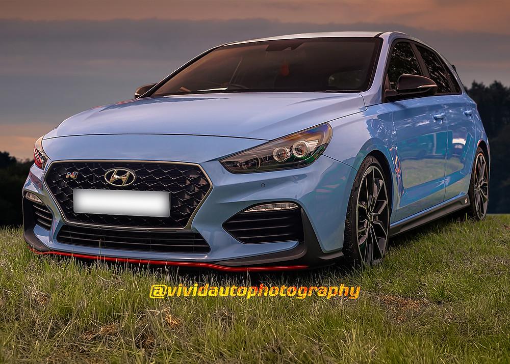 Hyundai i30N Performance front three quarters | Evening