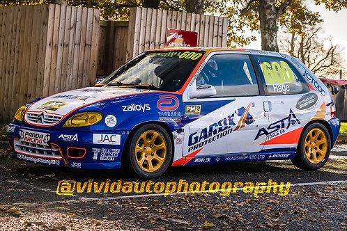 Ruben Hage Racing #600 Citroen Saxo Paddock area   Oulton Park